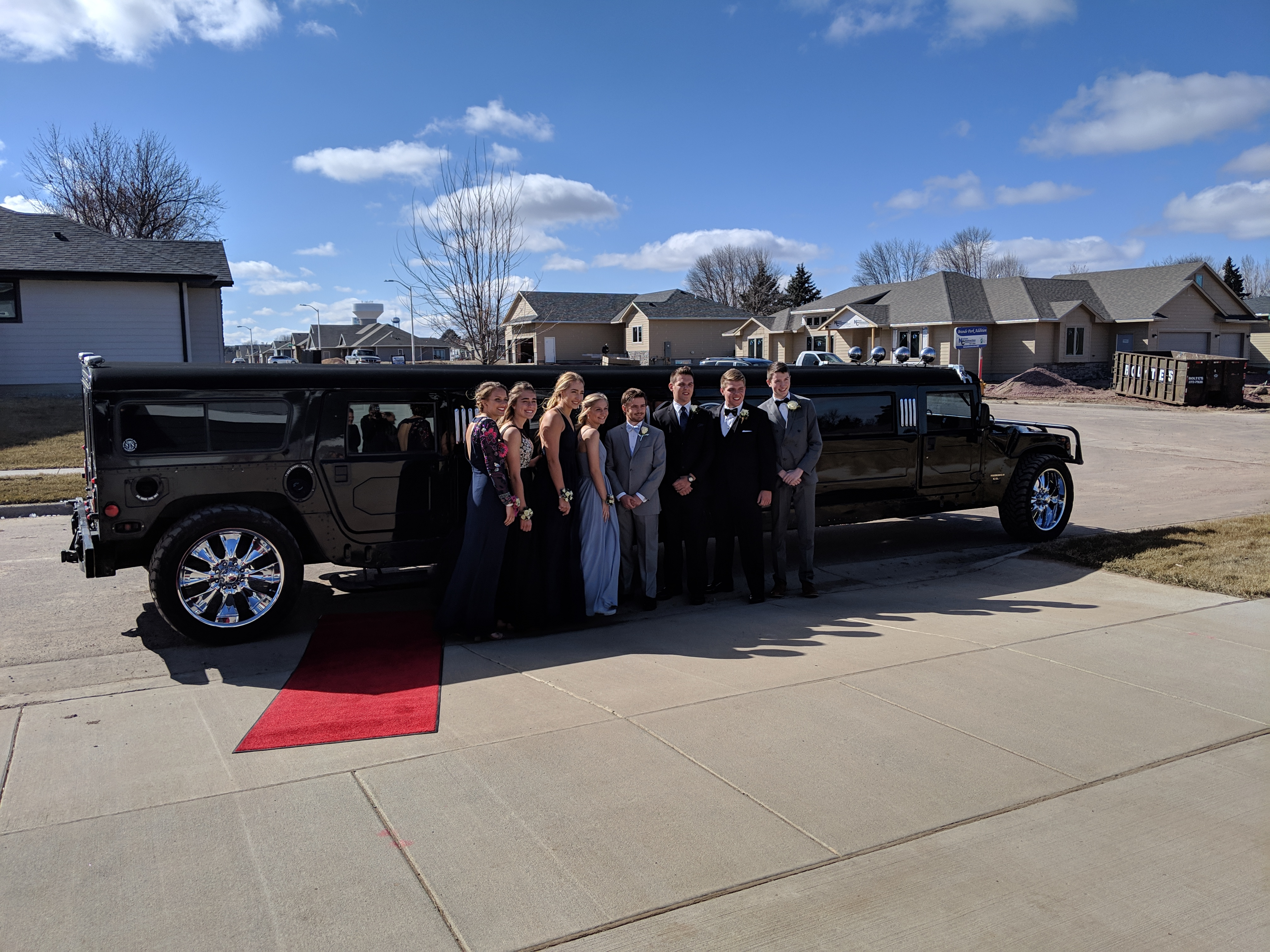 Our Fleet of Limousines in Sioux Falls