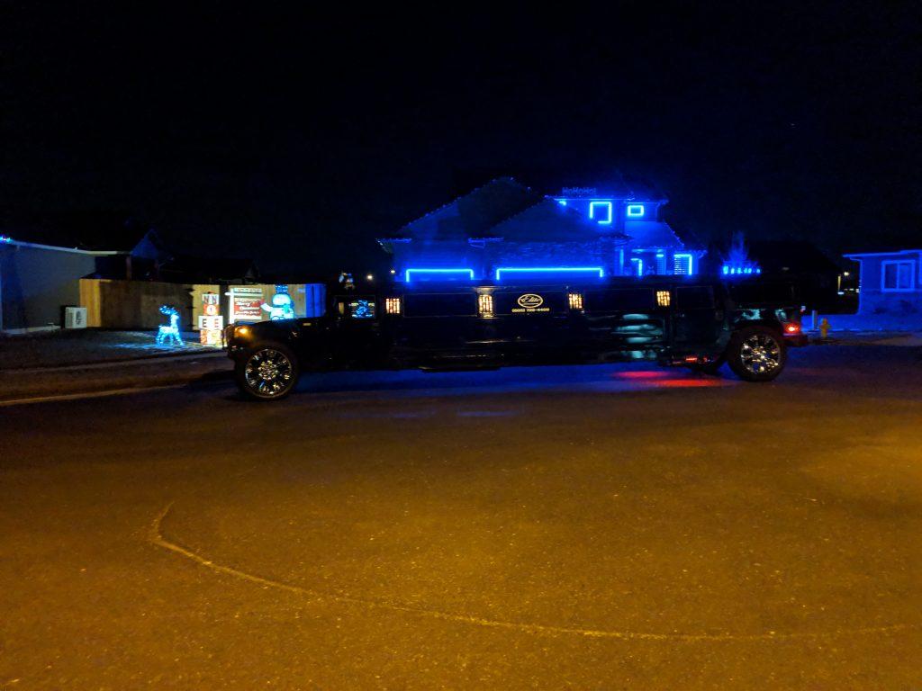Limousine Rentals Seasonal Tour Christmas Lights